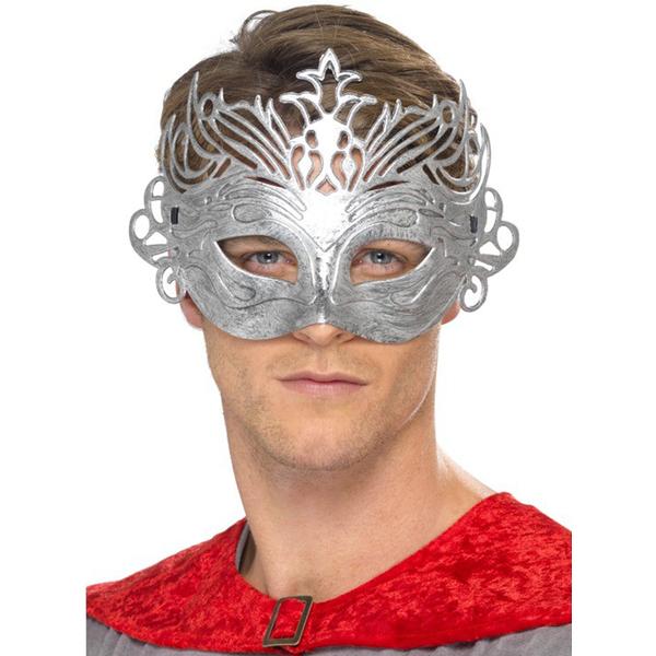 Silver Columbus Mask